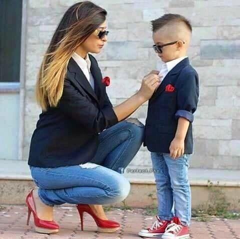 Mom And Son Fashion Ideas