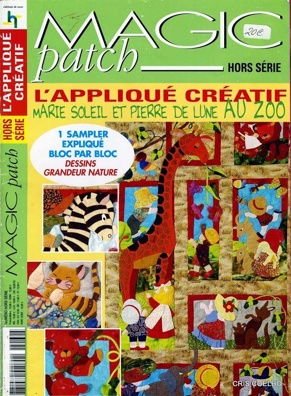 165 Magic PATCH L'Applique Creatif - maria cristina Coelho - Picasa Web Album