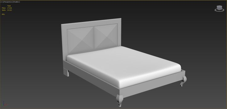 Max Bed Design Rhino - 3D Model