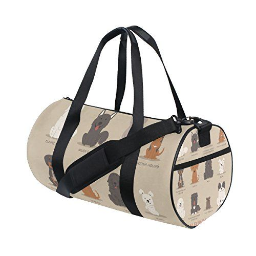 #AHOMY #Cartoon #Dog #Cute #Lightweight #Sports #Gym #Bag #Small #Duffel #Bag #Fashion #Barrel #Travel #Fitness #Tote #Bag for #Men and #Women SIZE: 18 x 9 x 9.5 inch MATERIAL: Canvas,super #lightweight, durable and fine workmanship SIMPLE&COMFORTABLE: Very simple #duffel #bag without too many bulky design. comfortable handles ,and a detachable shoulder strap https://travel.boutiquecloset.com/product/ahomy-cartoon-dog-cute-lightweight-sports-gym-bag-small-duffel-bag-fashion-b
