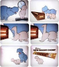 Chomp Ah, I remember this ad now. LMAO