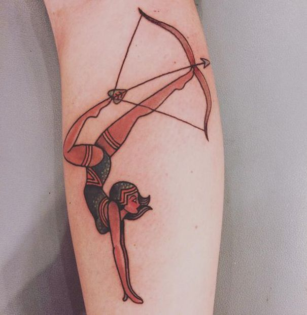 25 best ideas about sagittarius tattoos on pinterest for Archery tattoo pictures