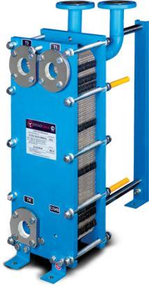 Пластинчатый теплообменник на ГВС (для горячей воды) и отопление