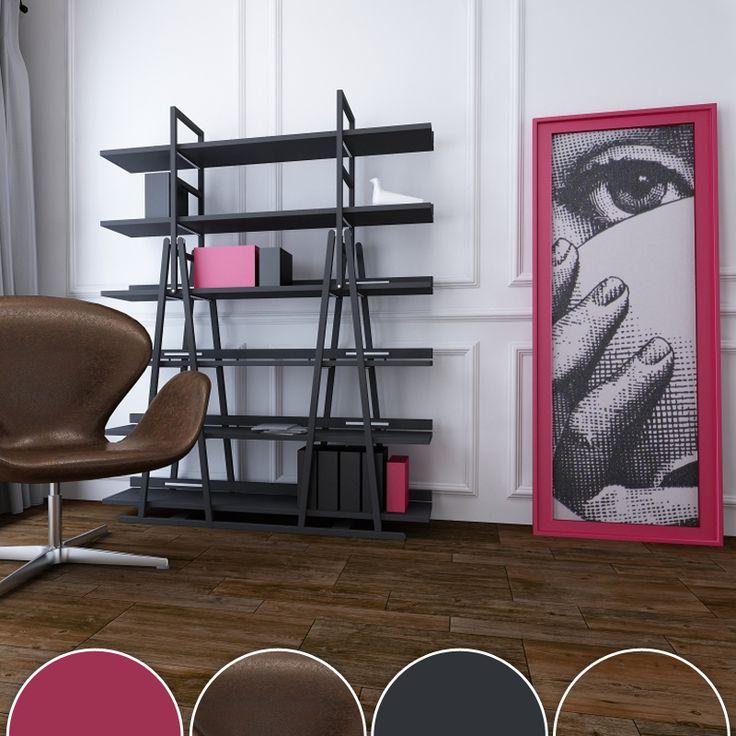 Usa un color que contraste con el resto para crear un punto focal.