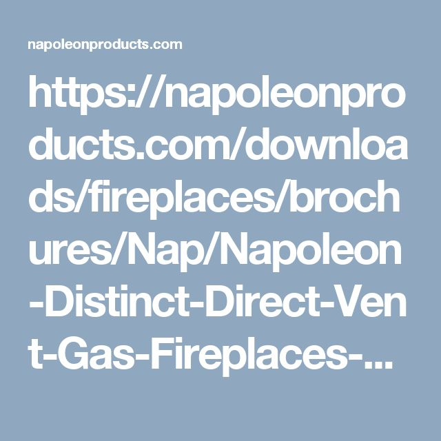 1000+ Ideas About Direct Vent Gas Fireplace On Pinterest