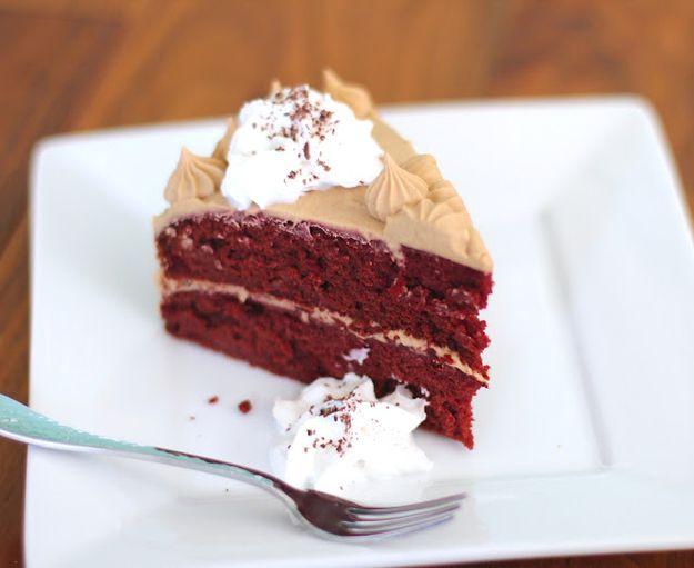 Gluten-Free Red Velvet Cake With Vanilla Frosting   33 Amazing Gluten-Free Desserts