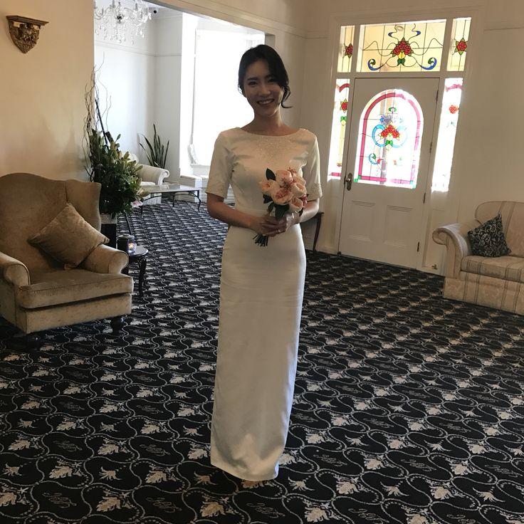 Sheike and elegant💕   #gardenweddings #sydneyweddingvenue #heritagevenue #weddings #luxurywedding #historicvenue #bride #love #lauristonhouse
