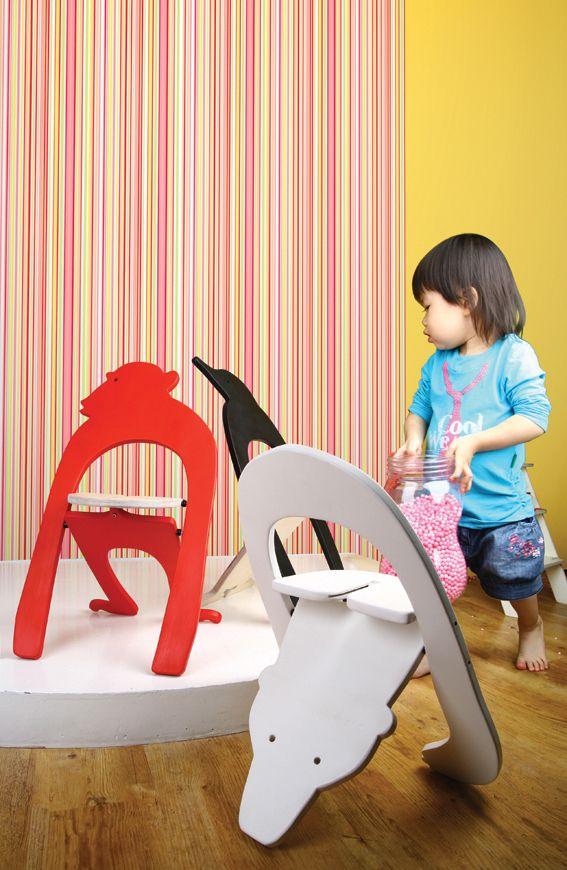 kids stool ZOO in WOOD FUSION 2008 | MARS POST