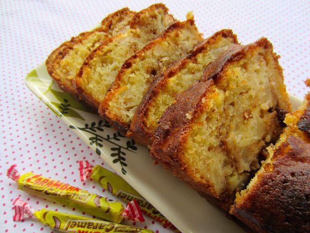 Cake aux poires et aux Carambars