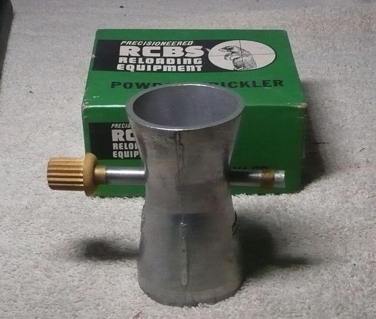 Vintage RCBS Reloading Equipment - Powder Trickler - Original Box