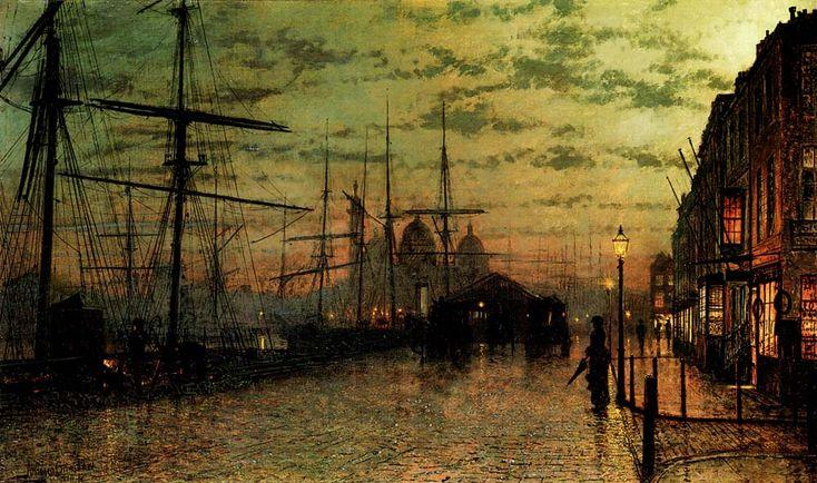 Humber Docks, Hull – John Atkinson Grimshaw