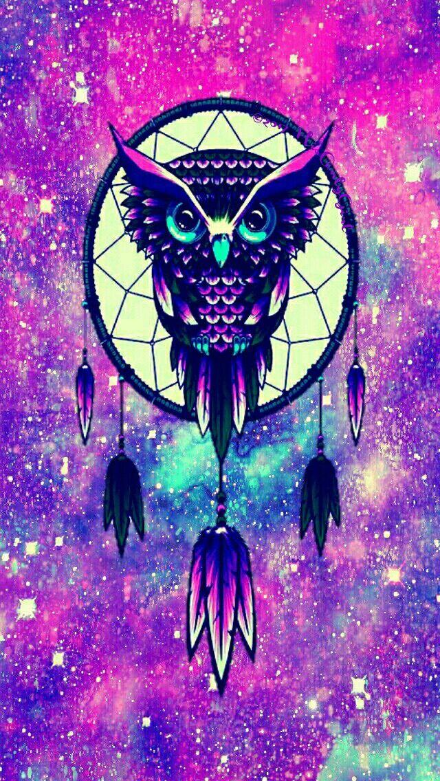 Pin By Karina Jaurena On Hintergrunde Owl Wallpaper Owl Wallpaper Iphone Owl Dream Catcher