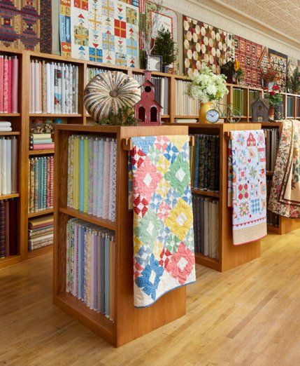 A Midwest quilt shop with a rich quilting history delivers stellar customer service and keeps creativity blooming.