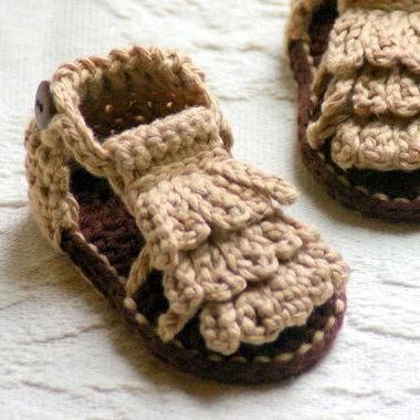 Baby Moccasin Sandals