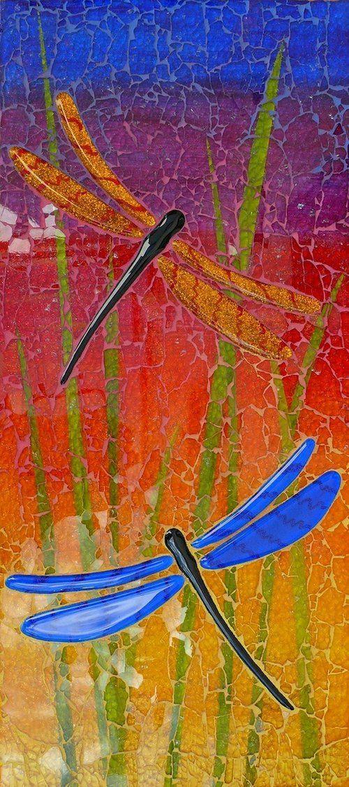 Shattered Glass Mosaics