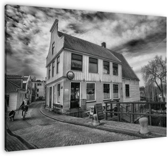Café 't Sluisje aan de Nieuwendammerdijk, Amsterdam Noord.