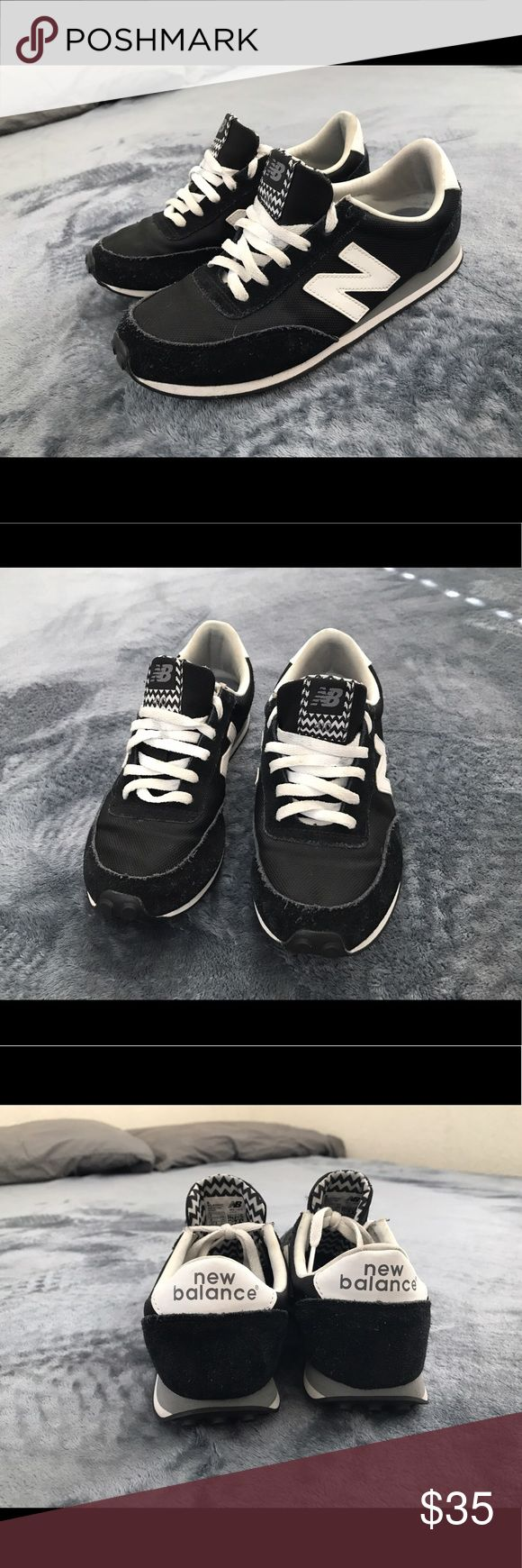 New Balance 410 New Balance black and white sneakers in very good condition. Only worn a handful of times. Inner soles are removable. True to size New Balance Shoes Sneakers