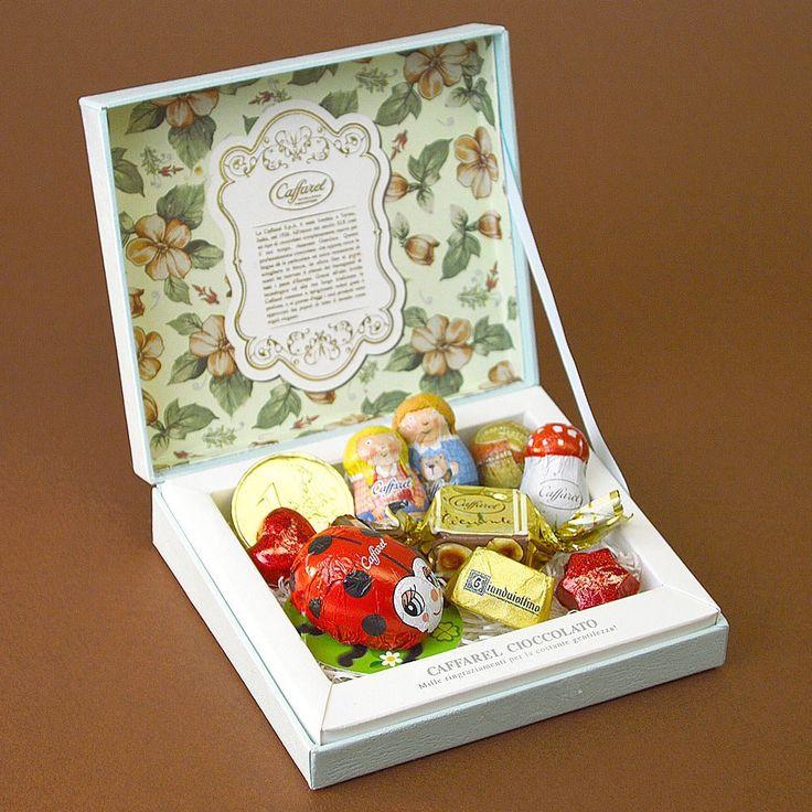 カファレル Caffarel オリジナルギフト ピッコラ チョコレート 紙袋付き