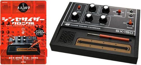 Gakken SX sintetizador analógico-150