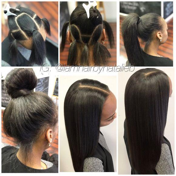 She Loved It Versatile Sew In Hair Weave By Natalie B 312 273 8693 Ig Iamhairbynatalieb Fb Hair By Natalie B Weave Hairstyles Hair Styles Sew In Weave Hairstyles