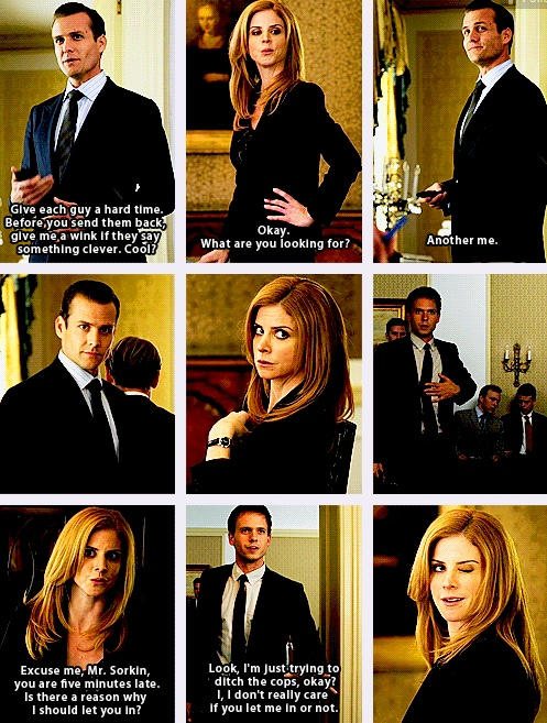 suits... And then it all began...