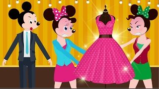ᴴᴰ Mickey Mouse & Minnie Mouse Fight Ivy by Scramble Dress Love Story! w/ Paw Patrol Full Episodes! - YouTube