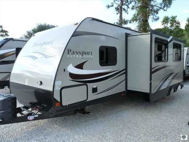 2016 New Keystone Passport 2810 BH Travel Trailer in Florida FL.Recreational Vehicle, rv, Come visit Palm RV at 16065 S. Tamiami Trail in Fort Myers Florida 33908, and our Towable Division at 15700 S. Tamiami Trail. Sales, Service & Consignments. We pride ourselves in maintaining a pristine fleet of affordable products. We are committed to serving you with the finest recreational vehicles, Motorhomes, Travel Trailers and Fifth Wheels on the market. We are a family owned and oriented RV…