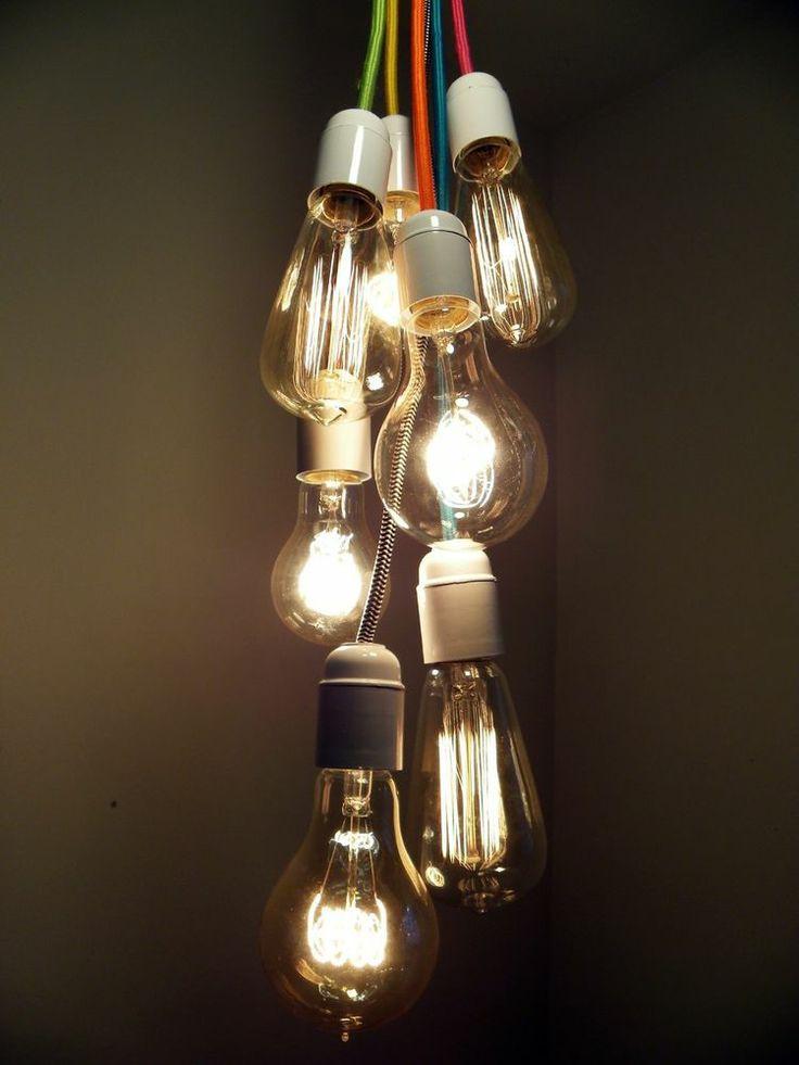 7 Cluster Bulbs Pendant Light Modern Chandelier Custom ...