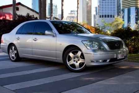 Lexus LS430 Corporate Car #CorporateCarsBrisbane #BrisbaneLimoHire