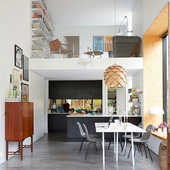 Kitchen-diner - sleek contemporary home in Stockholm | House tour - Housetohome.co.uk