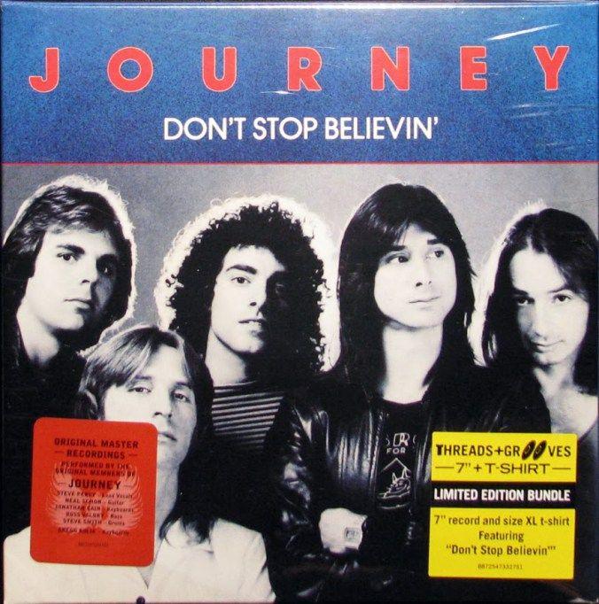 Don't Stop Believin' (Não parem de acreditar) dos Journey (1981).