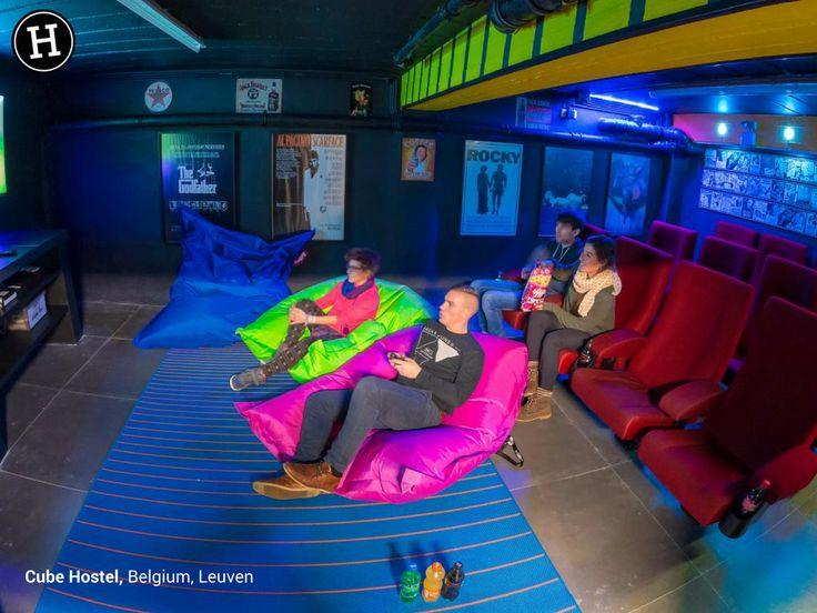 Cube Hostel - Leuven, Belgium - #LoveHostels