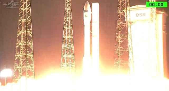 È un successo il lancio del satellite Sentinel-2B del programma Copernicus per il monitoraggio del territorio Il satellite Sentinel-2B del programma Copernicus / GMES, è partito dallo spazioporto di Kourou, nella Guiana francese, su un razzo vettore Vega. #esa #copernicus