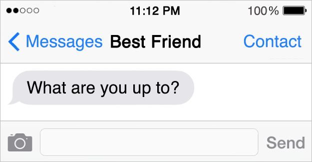 "11 Texts You Send Your Best Friend vs What They Actually Mean: The late night ""Heeeeeeeeeeeeeey"""