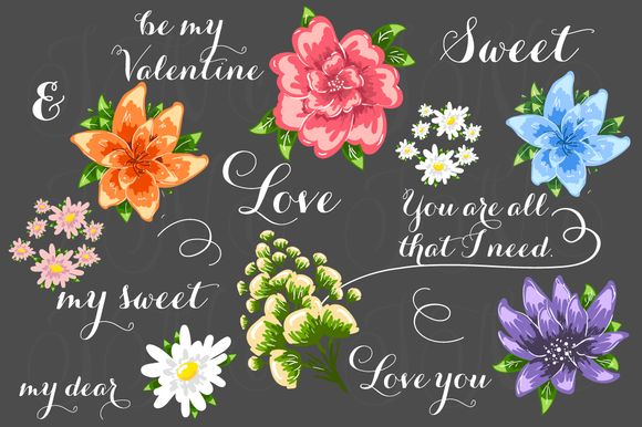 Check out 23 unique Wedding Floral clipart by Ivan Negin on Creative Market