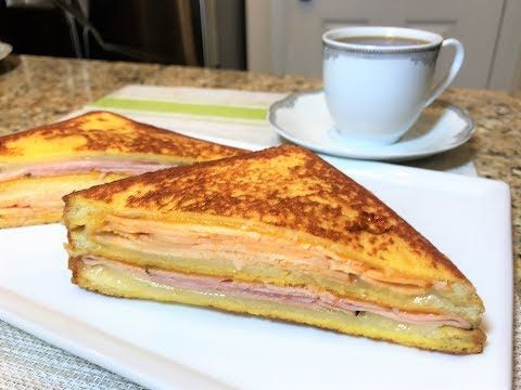 Быстрый Завтрак. Горячий Сэндвич МОНТЕ КРИСТО. (Американская Кухня) Monte Cristo sandwich - YouTube