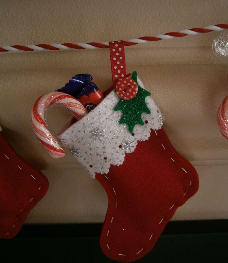 25 unique felt stocking ideas on pinterest diy felt for Felt stocking decorations