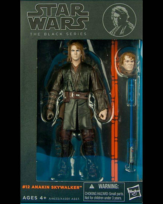 #Star #Wars #Black #Series #12 #Anakin #Skywalker  #Hasbro #actionfigures #action #figures #figuras #ação #villains #viloes #movies  #Darth #Vader