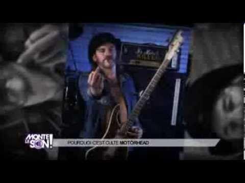 Motörhead : pourquoi c'est culte ? Une rubrique de Philippe Manoeuvre (Monte le Son) - YouTube