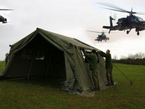 Military Arctic Tent