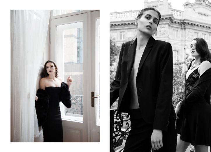 """La femme avec deux visages"" on Marie Claire Magyarország online mua: Nora Brown Makeup hair: Vivien Militaru at Close stylist: Balázs Zsálek models: Tim & Kyra at Avantage Models photographed by me http://marieclaire.hu/Divat/2016/12/13/A-no-ket-arca"