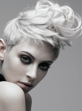 Now that's a platinum blonde
