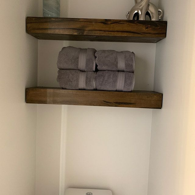 Free Shipping Wood Floating Shelves 10 Inches Deep Etsy Wood Floating Shelves Floating Shelves Shelves