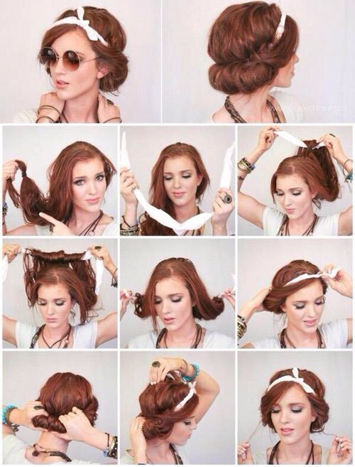 Image via We Heart It https://weheartit.com/entry/166278965 #amazing #beautiful #diy #fashion #ginger #hair #hairstyle #roll #style #tutorial