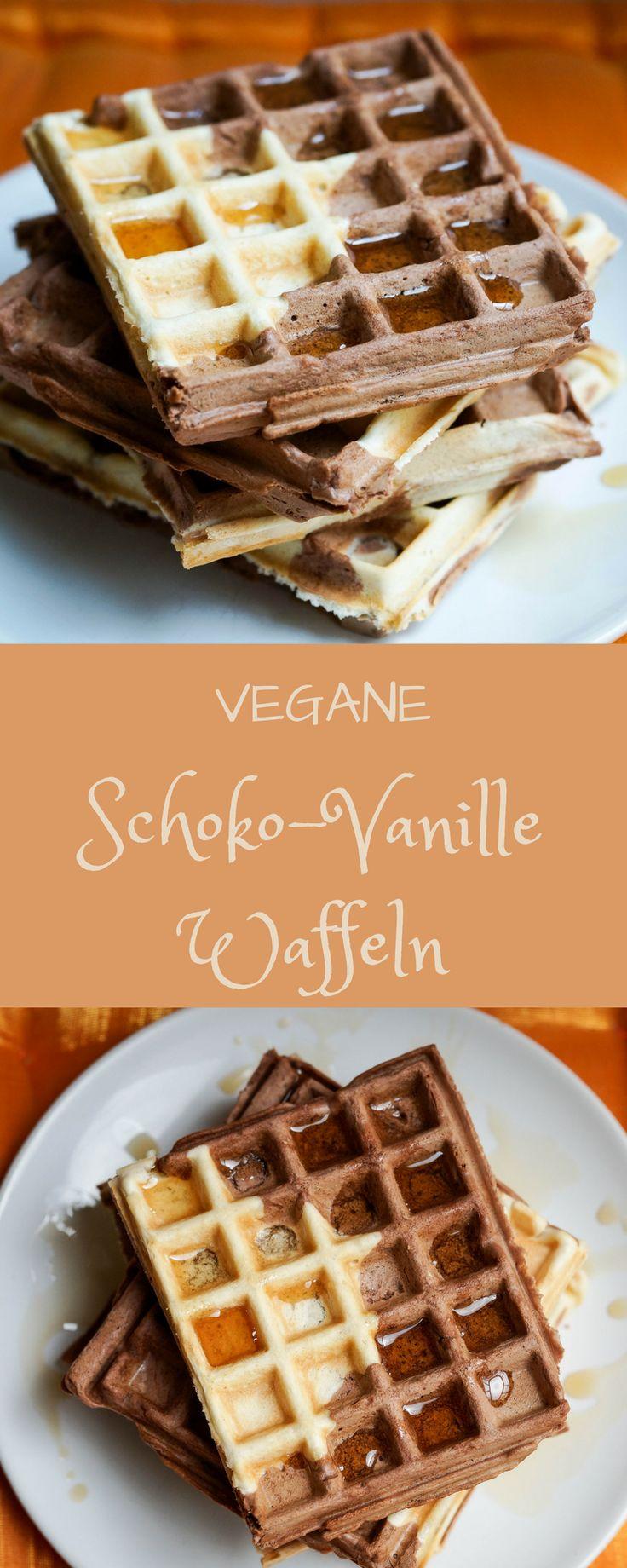 Vegane Waffeln. Rezept. #waffeln