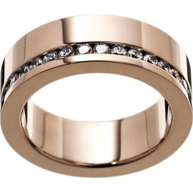 Edblad 80835 Ladies Size P (M) Malin Rose Gold Plated Ring