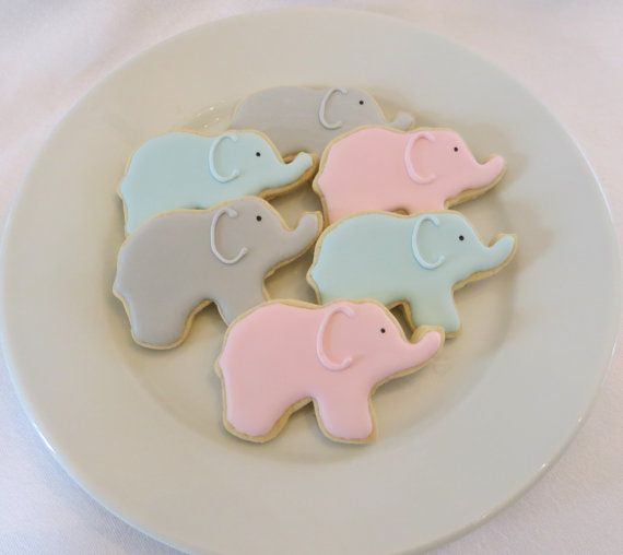 8 Best Colleens Baby Shower Images On Pinterest Decorated Cookies