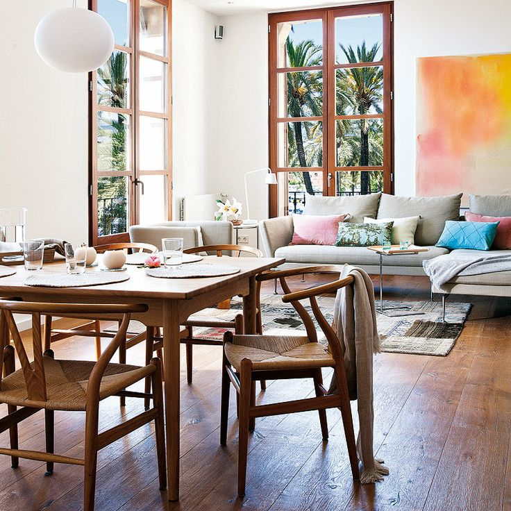 A mesa puesta comedores decorados con estilo - Comedores decorados ...
