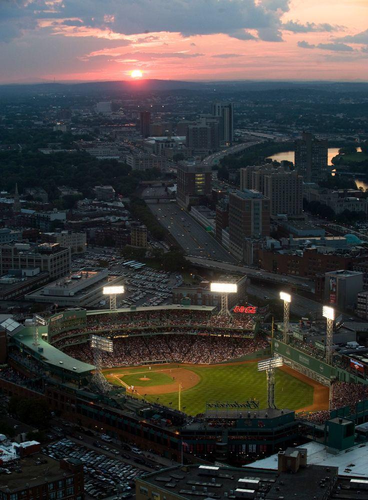 aerial:  fenway park; 1912-    :  boston red sox