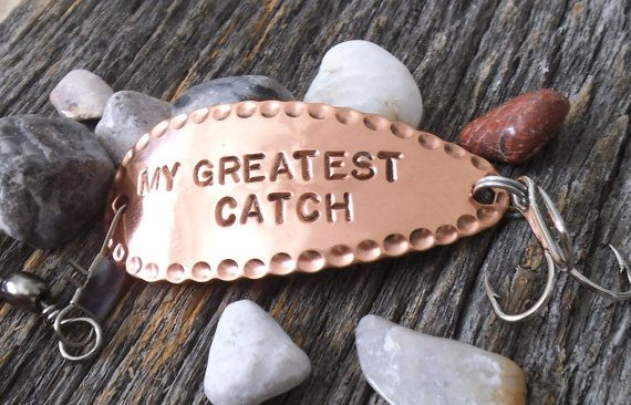 My Greatest Catch Fishing Lure Engraved Custom by CandTCustomLures, $32.00